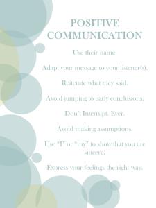 positiveverbalcommunication