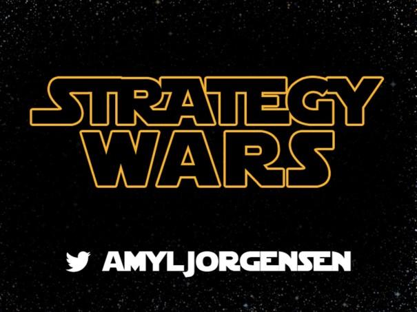 Strategy Wars Title Slide
